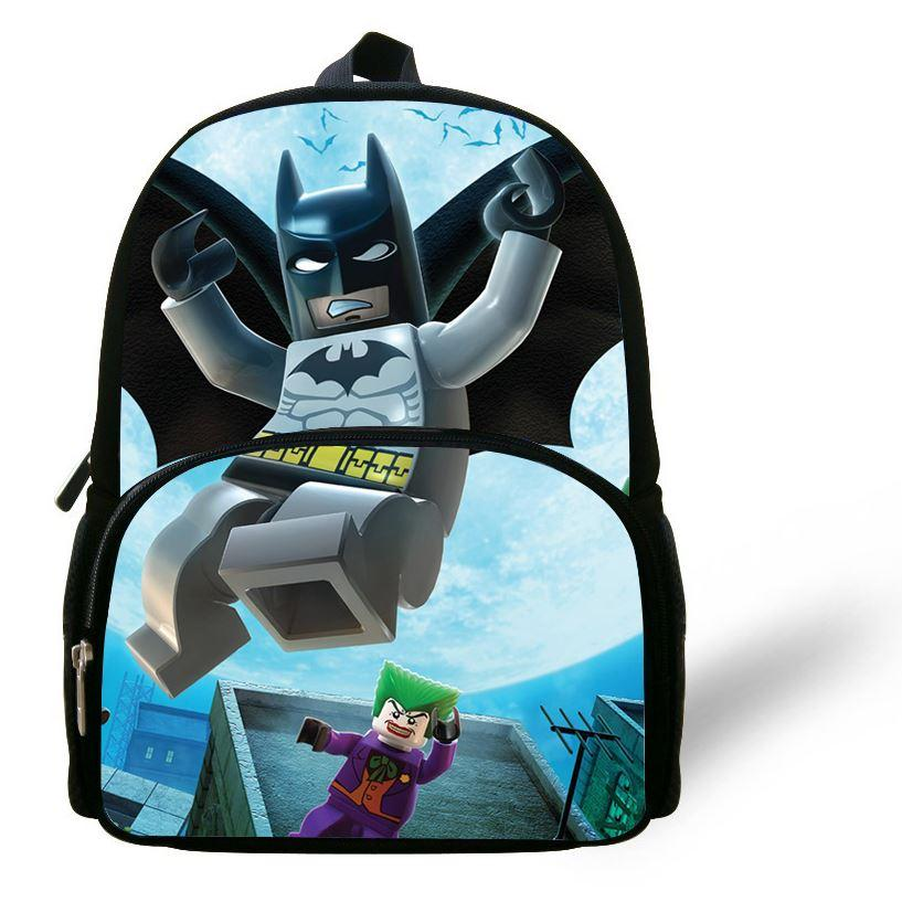 Cute Lego Batman Backpack, School Backpack Suit For Nursery School ...