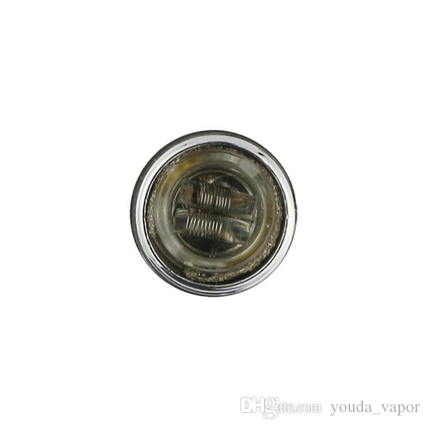 Atacado vapor de cera dual bobina de titânio de quartzo unha frigideira vaporizador 510 atomizador de cera quartzo prato frigideira vaporizador com ponta de gotejamento plástico-03