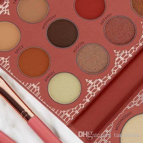 Berühmte marke kosmetik lidschatten textmarker kontur palette 21 farben langlebig gut pigment paletten echt versandkostenfrei