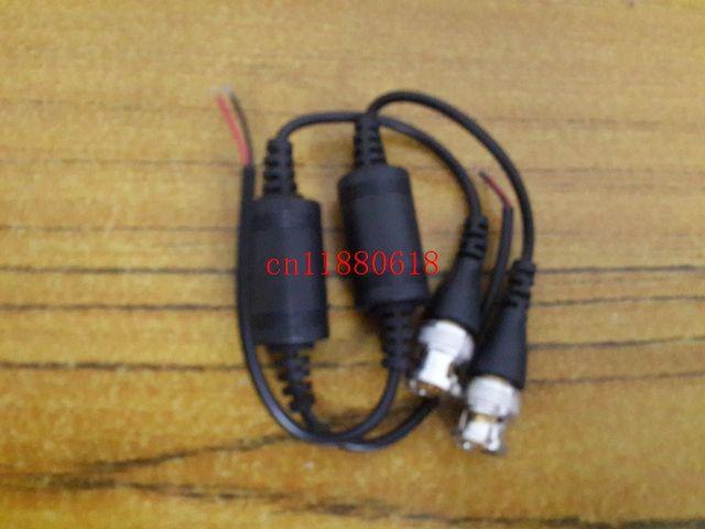 /  geben Verschiffen ein Kanal passiver Transceiver CCTV Video Balun UTP-602B Video über CAT5 Kabel BNC Mann frei
