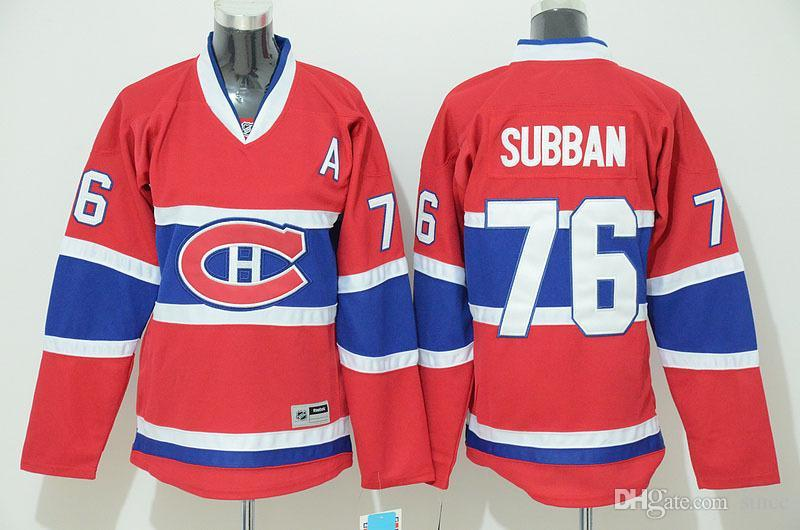 montreal canadiens 76 p.k. subban red womens jersey a86631512