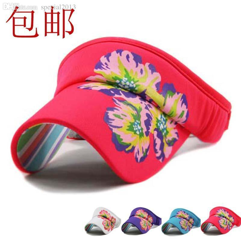 Wholesale-Ellesse Flower Lovely Outdoor Sports Cap Summer Sun ... 3b67432f418