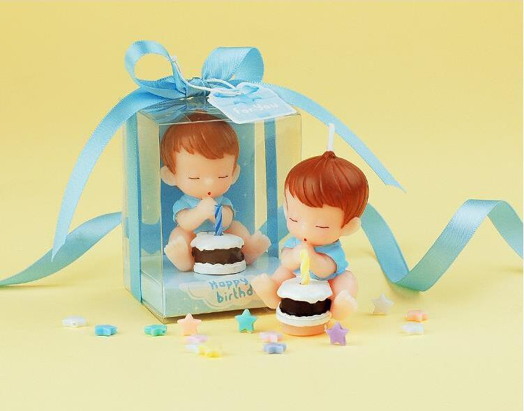 Wholesale Baby Shower Wishing Birthday Favors Party Candles For Cake