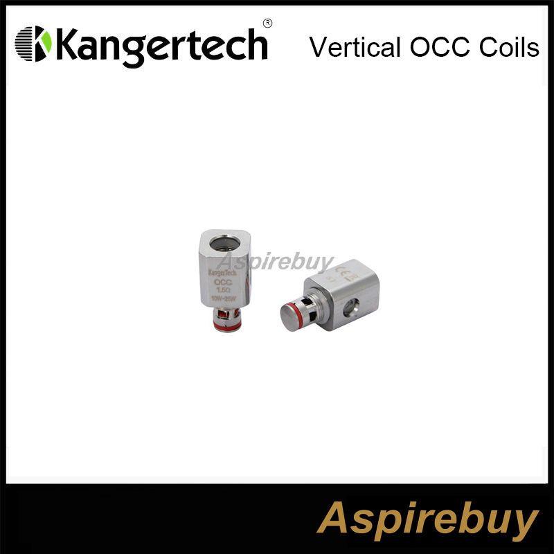 Kangertech Subtank новый вертикальный органический хлопок катушки OCC головка катушки 0.5 1.2 1.5 ohm замена катушки Sub ohm для Kanger Subtank Nano