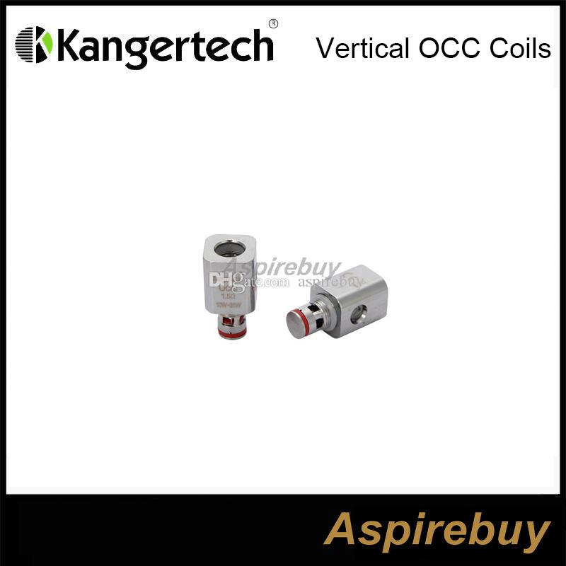 Kangertech Subtank Vertical Organic Cotton Coils OCC Coil Head 0.5 1.2 1.5ohm Replacement Coils Sub ohm for Kanger Subtank Nano 100% Origina