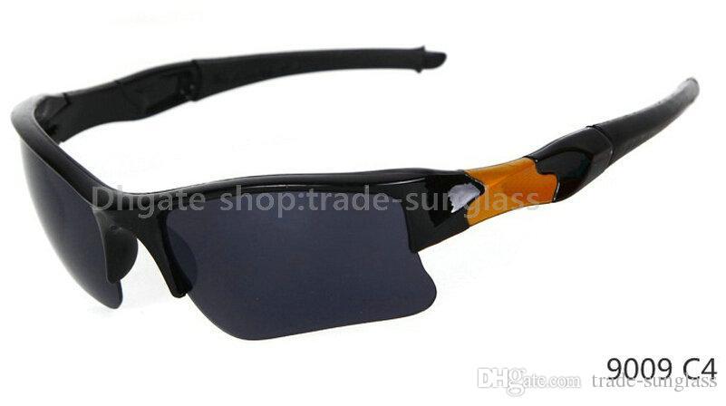 New Arrival Black frame/blue lens Factory Price sunglasses sports cycling sunglasses fashion colour mirror Brand Sunglasses men
