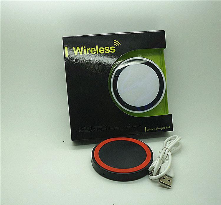 Qi Wireless-Ladegerät Handy X50 Mini-Ladestation für Qi-fähige Geräte Samsung Galaxy S3 S4 S5 Note2 / 3 Nokia HTC Iphone-Handy