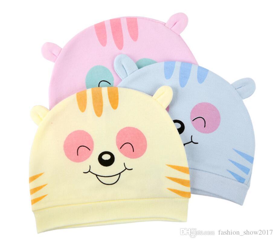 Hot Baby Hat Cute Cotton Hats for Newborns Baby Caps Handmade Children Kids Born Boy Girls Beanie Infantil