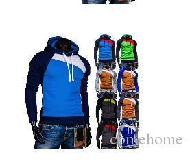 38b813b8 Spring Fall And Winter Clothes Men's Hooded Outerwear Men's Cardigan ...