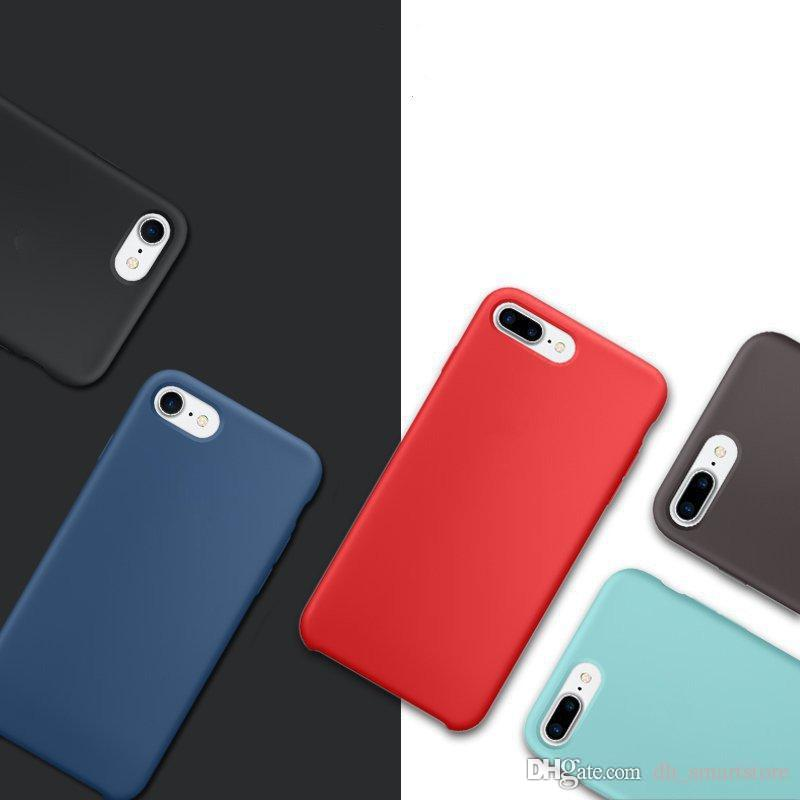 766bb7b476b For iPhone xs max xr x 8 6s 7 silicone case original style Liquid Silicon  rubber Cases iphonex for iPhone 8 6s 6 7 plus with LOGO retail box