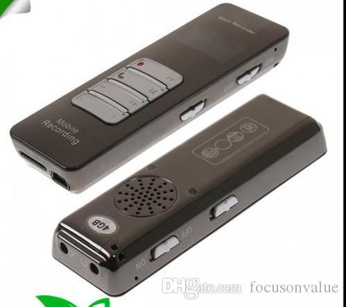 Wireless Bluetooth Voice & Call Recorder for Mobile Cellphone 8GB USB Digital Voice Recorder with Mp3 Player