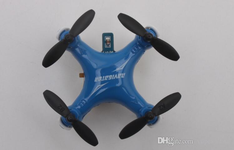 FY804 4CH 2.4G 3D Roll Helicopter Toy Drone Mini RC Quadcopter aviones de control de radio con luz