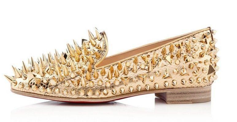 Cheap Gold Dress Shoes