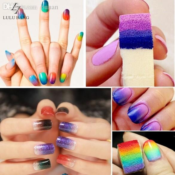 Wholesale miraculous nail art sponge stamp stamping polish see larger image prinsesfo Gallery