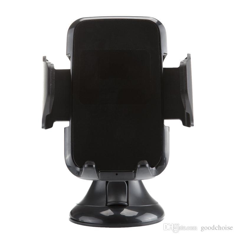 10w Wireless Car Charger Carregador Anttye Qi Veículos sem fio de carregamento sem fio para IP X XS Max Samsung S9 Note9 S10 carregador