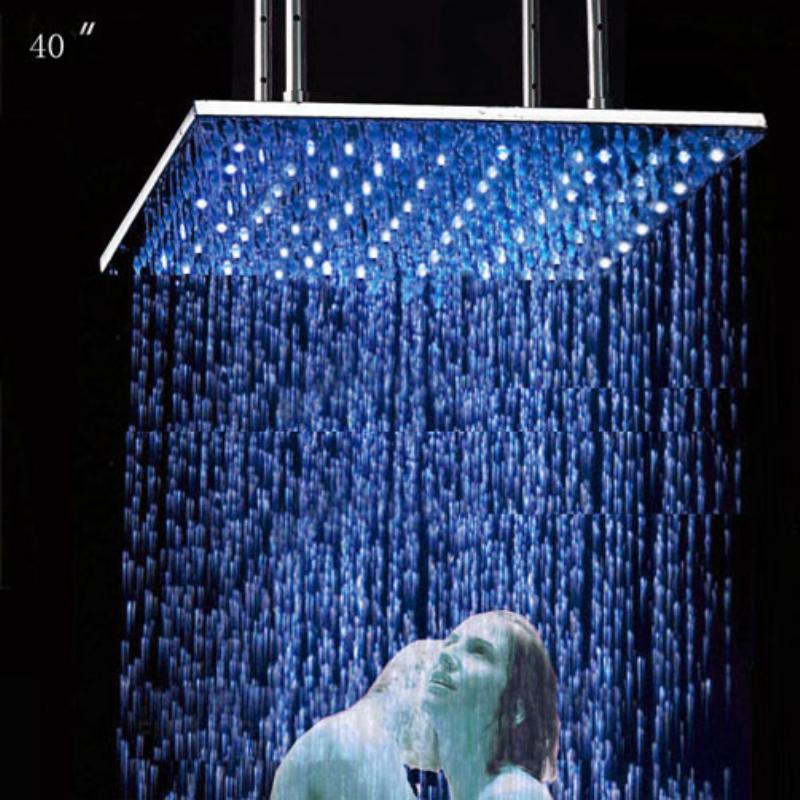 Hot Seling Biggest Shower in the World Stainless Square Bathroom ...
