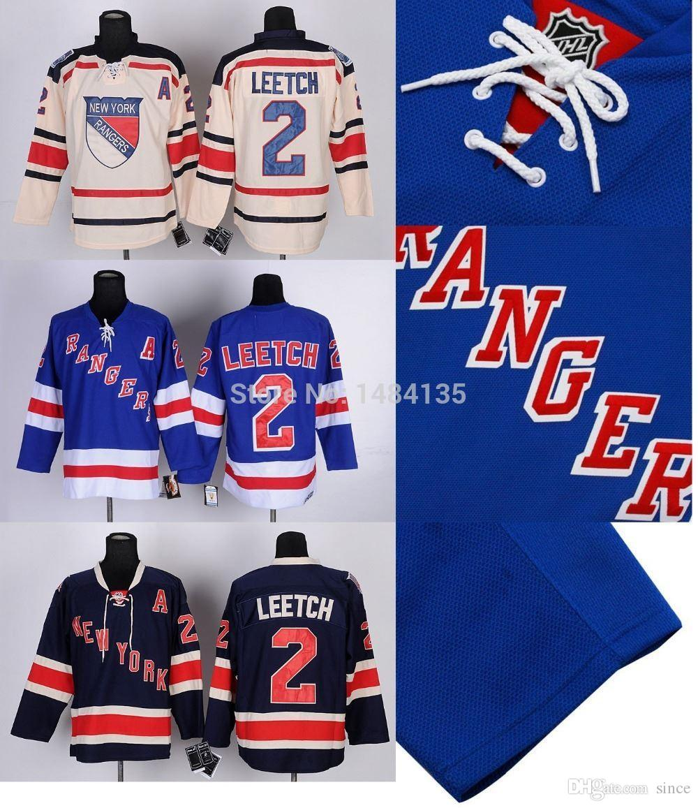2018 2016 New, Mens New York Rangers Jersey Brian Leetch Blue Ccm Jerseys  Winter Classic Stitched Jersey With Embroidery Logos. From Since, $21.11 |  Dhgate.