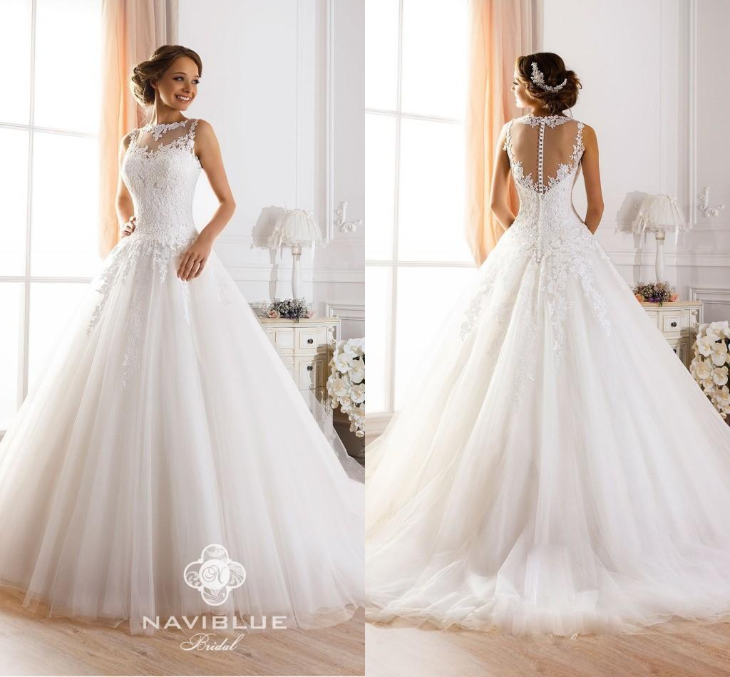 Discount Vintage Lace Backless Wedding Dresses 2015 New