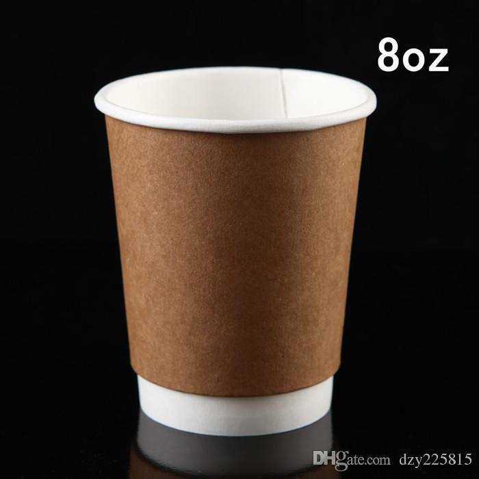 b0e6d2b747c Of Brown Double Wall Kraft Paper Coffee Hot Cup Dicas Para Cupcake Dicas  Para Fazer Cupcake From Dzy225815, $182.98| DHgate.Com