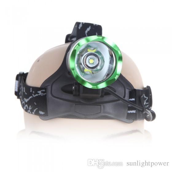 XML T6 headlamp LED headlight CREE head lamp frontal torch waterproof 18650 Rechargeable battery 3800 lumens