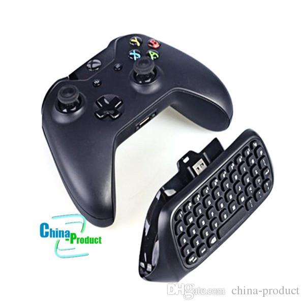 Teclado do controlador do jogo da mensagem do mini teclado sem fio de Bluetooth para o controlador de Xbox um com o receptor 2.4G 010211