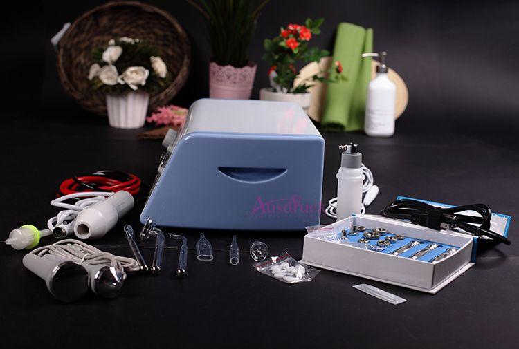 BEST quality diamond microdermabrasion dermabrasion peeling spot acne wrinkle remover high frequency vacuum spray skin rejuvenation machine