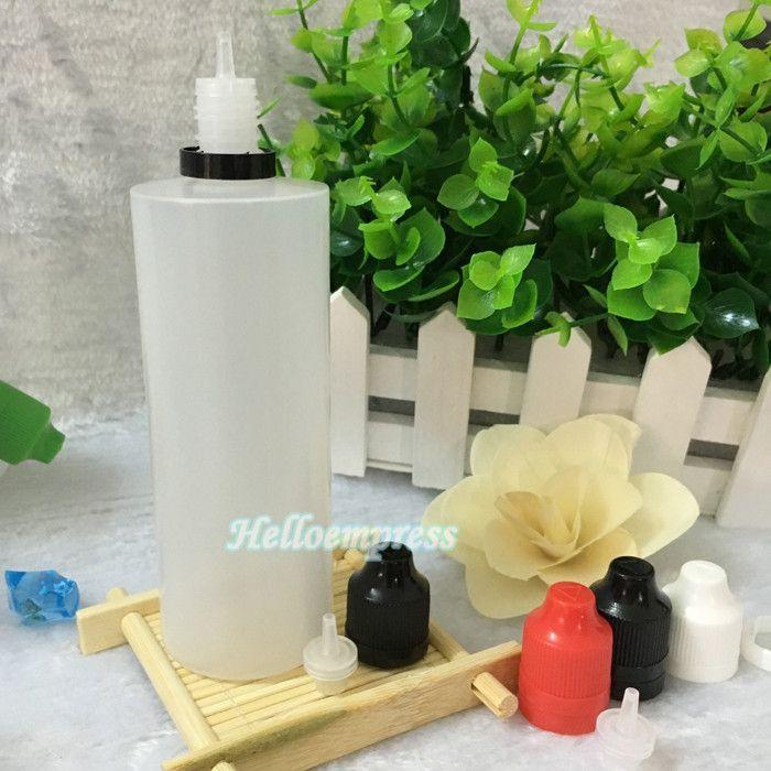 2017 Big e liquid empty bottle LDPE 120ml childproof tamper cap plastic dropper bottle with long thin tip stock e-juice oil for e-cig