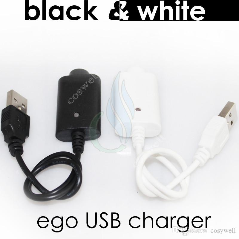 Electronic cigarettes Charger USB ego Charge with IC protect 4 ego T 510 mod evod vision mini e cig cigarette vapor mods Battery charger DHL