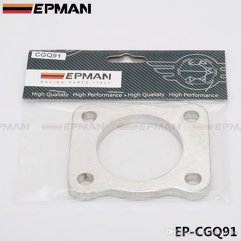 Турбина EPMAN с фланцем впускного / выпускного коллектора для Mitsubishi 4G63T EVO1 ~ 3 VR4 DSM в наличии EP-CGQ91