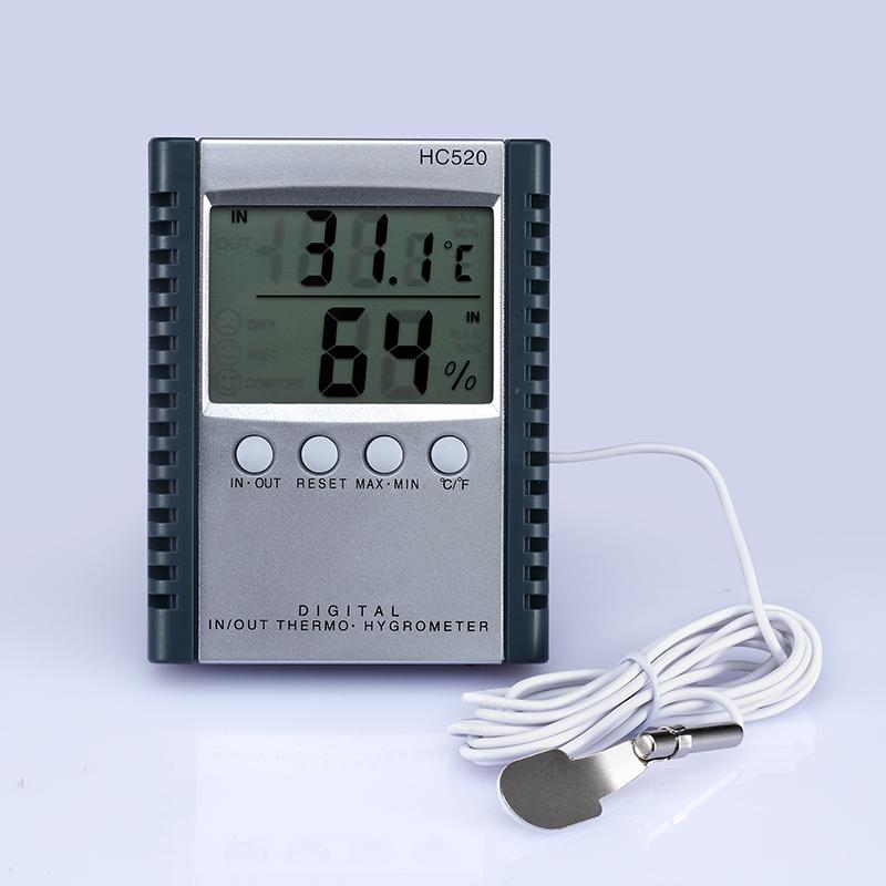 Цифровой термометр гигрометр измеритель влажности температуры для крытый открытый ЖК-дисплей HC520 в розничной упаковке 50 шт. / лот