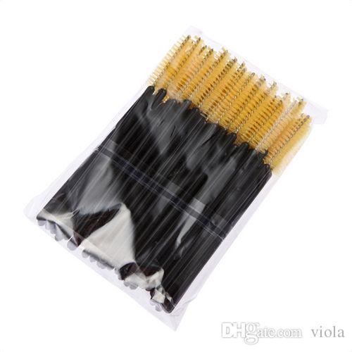 Big promotions ! One-Off Disposable Eyelash Eyelashes Brush Brushes Mascara Applicator Wand Brush Lash Brush /pack