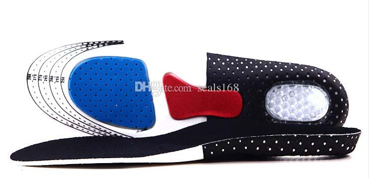 New Men Gel Orthotic Sport Running Insoles Insert Shoe Pad Arch Support Cushion For Women Football Deodorization Soft Insole SZ16-I01