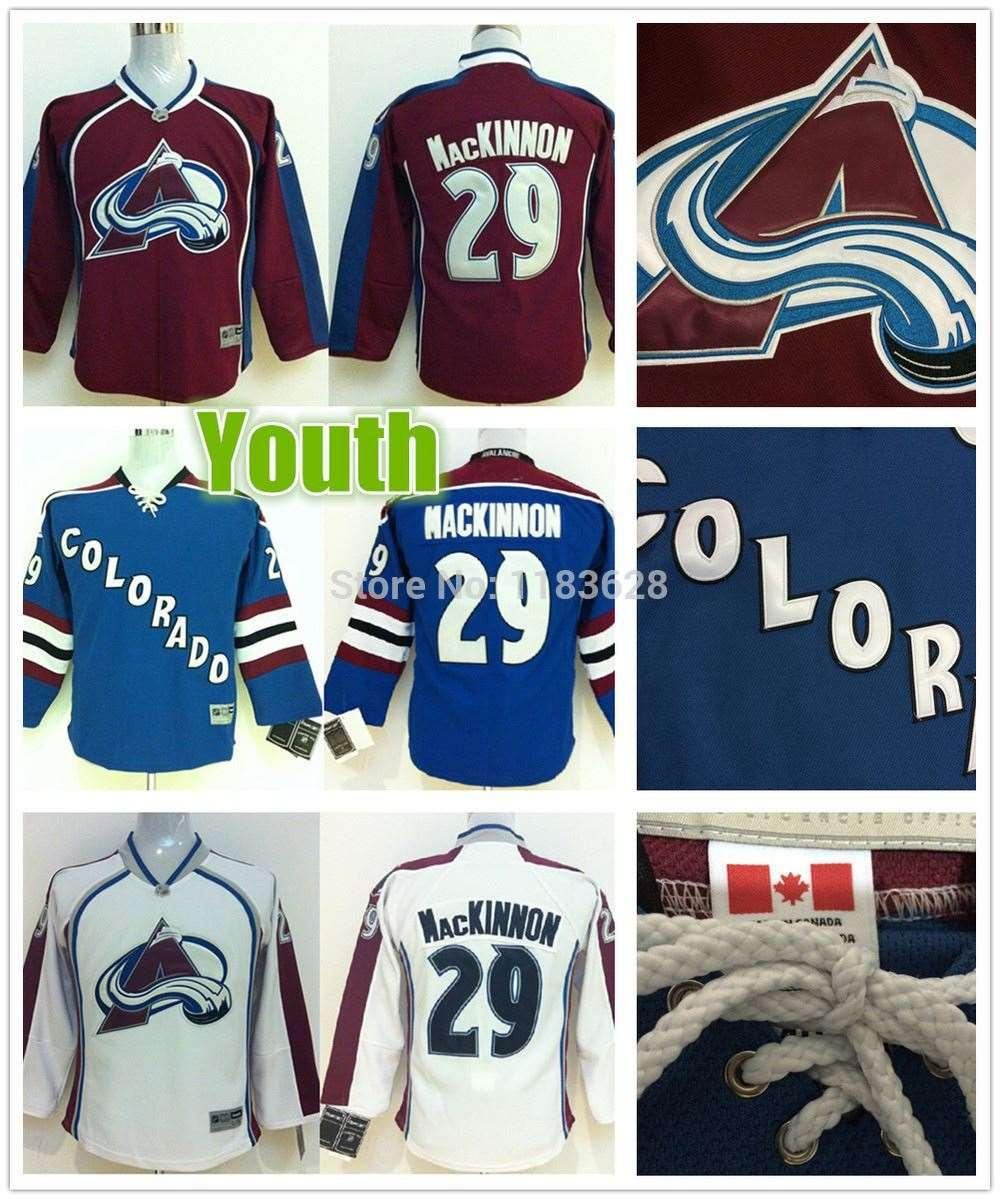 b9617ff94 ... fashion stitched nhl jersey 95204 64bc8  new arrivals hockey jersey  2017 factory outlet youth colorado avalanche jerseys 29 nathan mackinnon  youth home