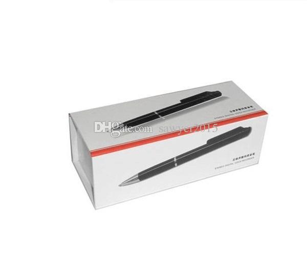 N16 8 Go style de dictaphone Real Weiting enregistreur vocal audio numérique avec lecteur MP3 dans la boîte de détail /