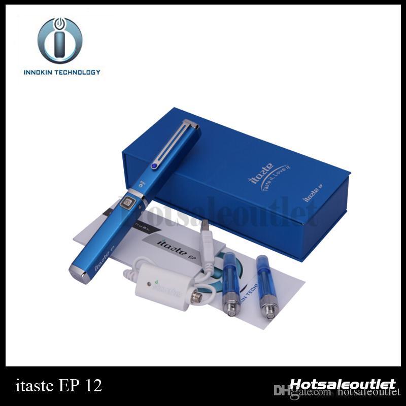 innokin iTaste EP E-cigarette Kits iTaste EP With Iclear 12 Vaporizer Pen Mod Kits 700 mah Battery 100% Original New Arrivals