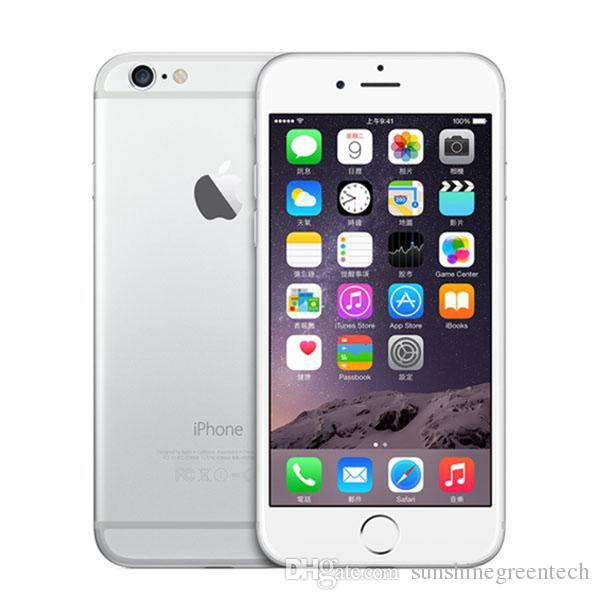 """Refurbished iPhone 6 Cell Phones Authentic Apple iPhone 16G 64G IOS Rose Gold 4.7"""" i6 Smartphone Wholesale China DHL free"""