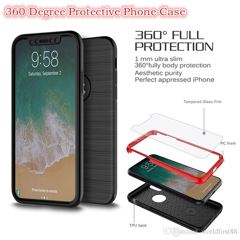 New Wire Drawing 360 Degree Full Coverage Protection With Tempered ...