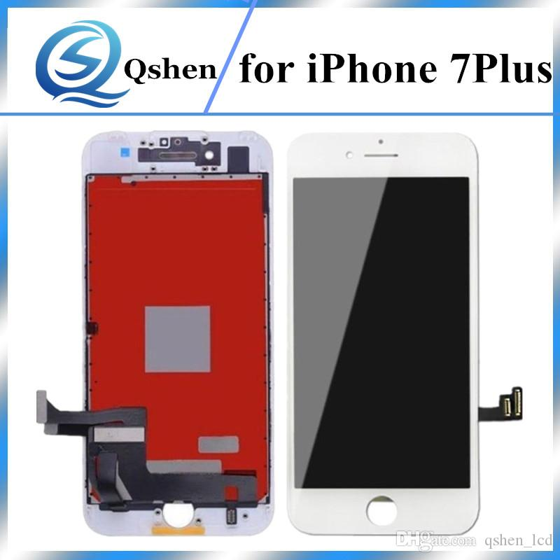 A+++ Quality for iPhone 7 Plus LCD Display Touch Screen Digitizer Assembly with Frame Replacement 100% Test