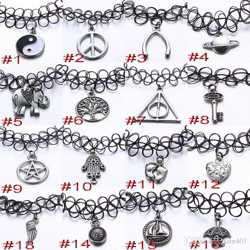 wholesale simple 16 style heart key animal five pointed star peace hand various designs elastic. Black Bedroom Furniture Sets. Home Design Ideas
