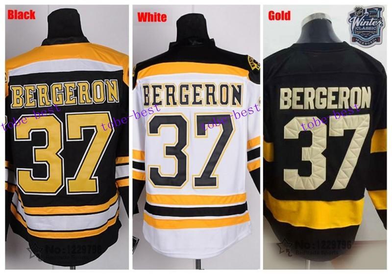 0adae235d ... 2016 winter classic patrice bergeron hockey jerseys boston bruins jersey  home black 37 patrice bergeron stitched