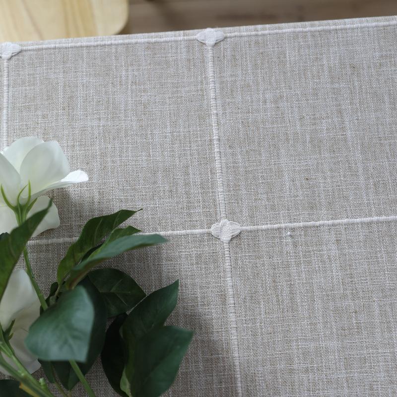 Großhandel Einfache Moderne Streifen Tischdecke Fertigprodukt ...
