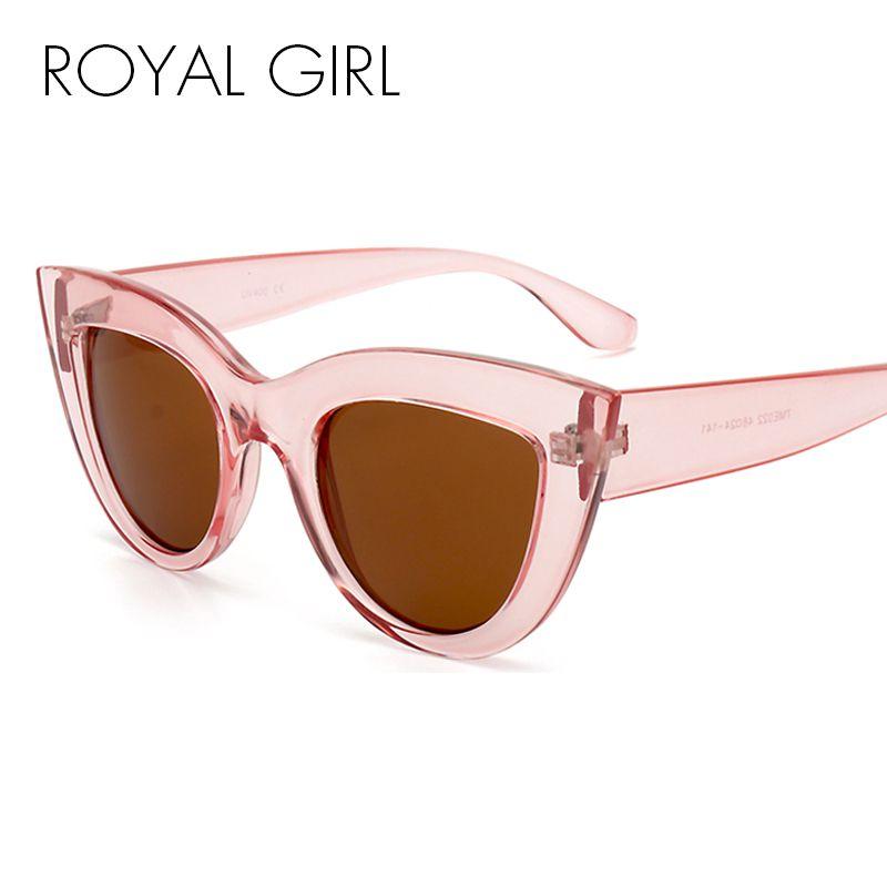 65c48dfad49 ROYAL GIRL Fashion Cat Eye Sunglasses Luxury Brand Designer Vintage Women  Glasses High Quality Eyewear Ss689 Designer Eyeglasses Womens Sunglasses  From ...