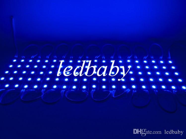 5050 5 LED Module DC12V Étanche ip65 éclairage LED Modules de rétroéclairage de signe Modules de boîte lumineuse /