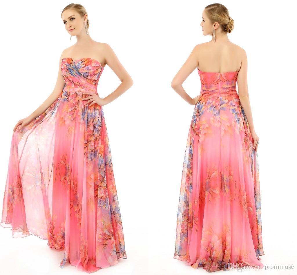 Encantador Vestidos De Fiesta Bohemio Elaboración - Colección de ...