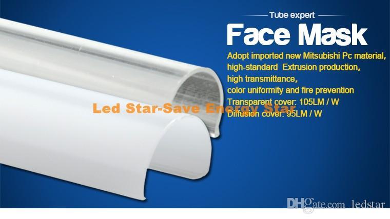 NUOVO integrato T5 Led Tubi 1 piede 2 piedi 3 piedi 4 piedi 5 piedi 6 piedi 8ft raffreddamento luci Led Tubi Lampadine CA 110-240V CE UL
