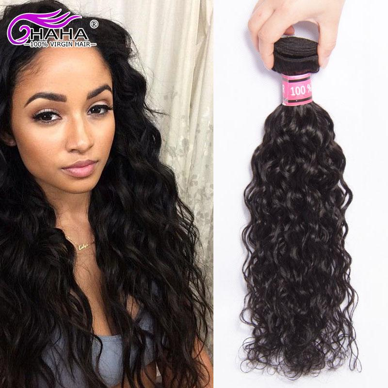 7a Unprocessed Brazilian Wavy Hair Extension Ocean Wavy Natural Wave