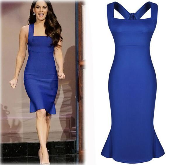 Party Dresses For Women Dress Blue Plus Size Dresses For Womens ...
