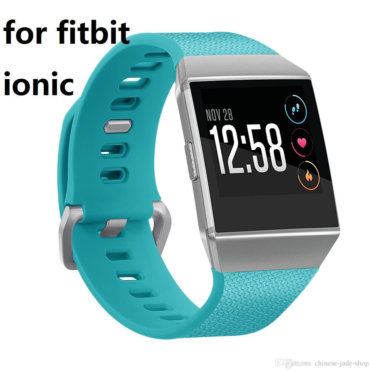 Для Fitbit ионные наручные носимых TPE силиконовые ремни группа часы классические замена полосы 20 шт. / л