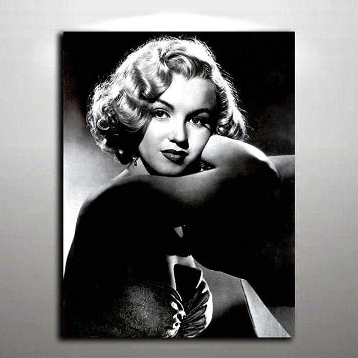 Sexy Marilyn Monroe Bild Moderne Ölgemälde auf Leinwand Wandbild Kunst für Home Living Hotel Cafe Wand Dekor gedruckt