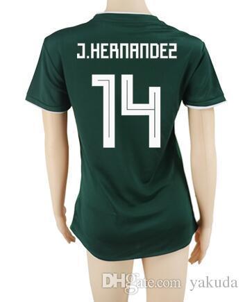 ead99c7f7d0 2019 TOP 18 19 Mexico Women 7 Lopez Thai Quality Soccer Jerseys Shirts